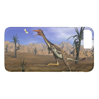 Mononykus dinosaur hunting - 3D render iPhone 7 Plus Case