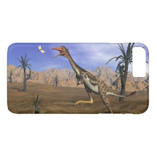Mononykus dinosaur hunting - 3D render iPhone 8 Plus/7 Plus Case