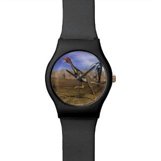 Mononykus dinosaur hunting - 3D render Watch