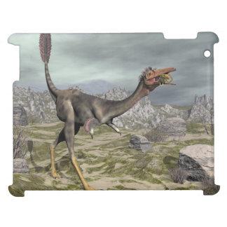 Mononykus dinosaur in the desert - 3D render Case For The iPad 2 3 4