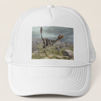 Mononykus dinosaur in the desert - 3D render Trucker Hat