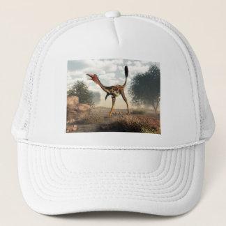 Mononykus dinosaur in the desert - 3D render Trucker Hat
