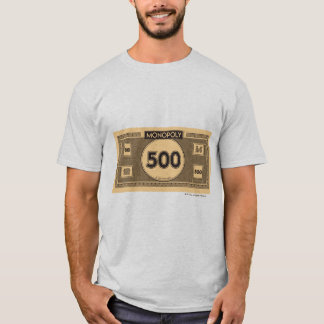 Monopoly | 500 Dollar Bill T-Shirt