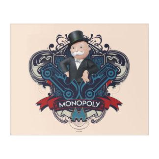 Monopoly Blue Acrylic Print