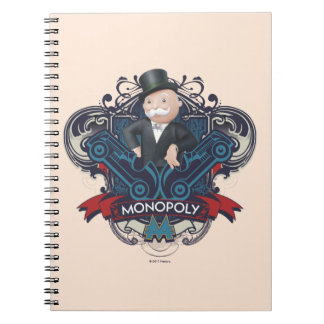 Monopoly Blue Notebook