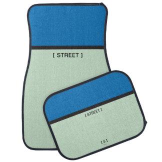 Monopoly | Blue Space Car Mat
