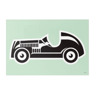 Monopoly | Car Acrylic Wall Art