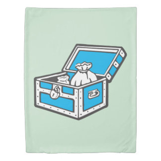 Monopoly | Community Chest Duvet Cover