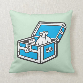 Monopoly | Community Chest Throw Pillow