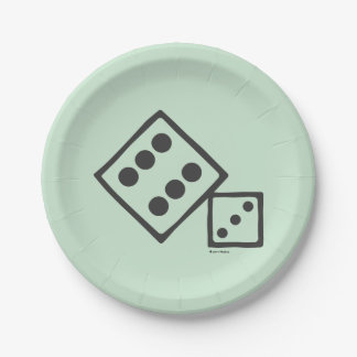Monopoly | Dice Paper Plate