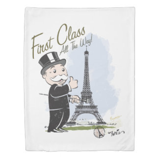 Monopoly | First Class all the Way Duvet Cover
