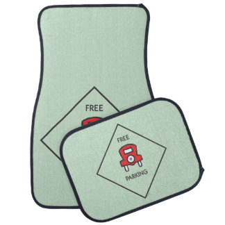 Monopoly | Free Parking Corner Square Car Mat