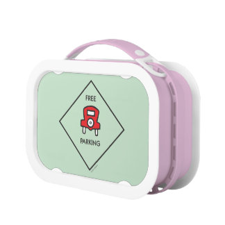Monopoly | Free Parking Corner Square Lunch Box