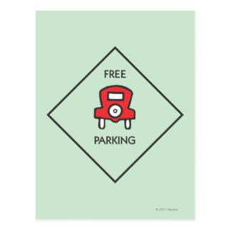 Monopoly | Free Parking Corner Square Postcard