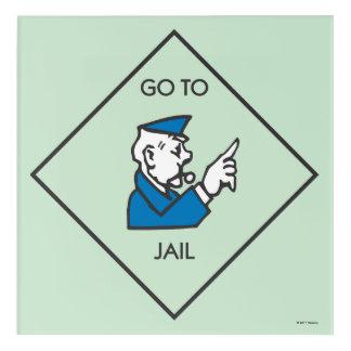 Monopoly | Go To Jail - Corner Square Acrylic Print