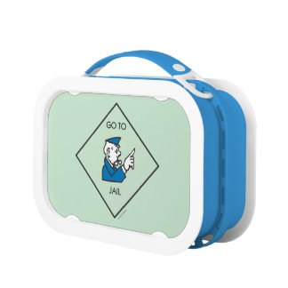 Monopoly | Go To Jail - Corner Square Lunch Box