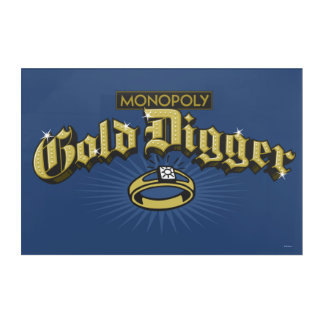 Monopoly Gold Digger Acrylic Print