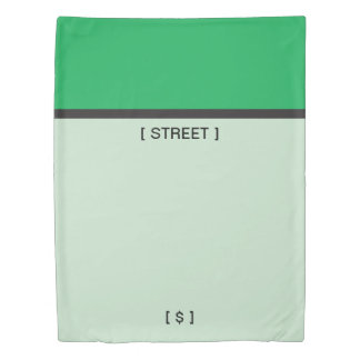 Monopoly | Green Space Duvet Cover