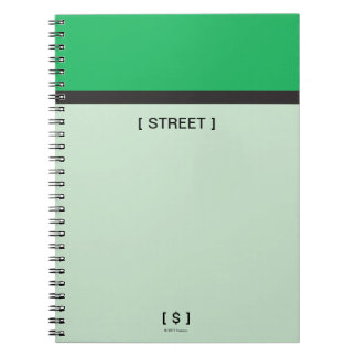 Monopoly | Green Space Notebook