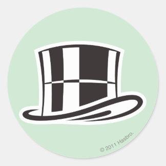 Monopoly | Hat Classic Round Sticker