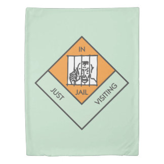 Monopoly | In Jail/Just Visiting Duvet Cover