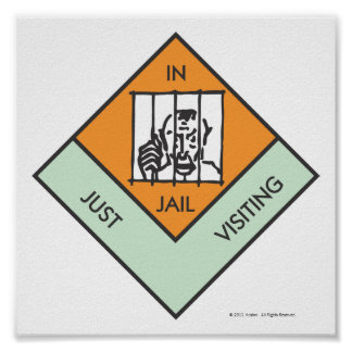 Monopoly | In Jail/Just Visiting Poster