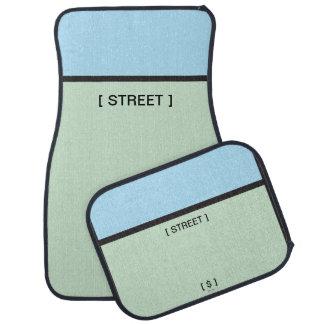 Monopoly | Lt. Blue Space Car Mat
