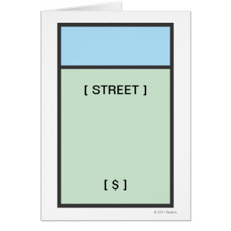 Monopoly | Lt. Blue Space Card