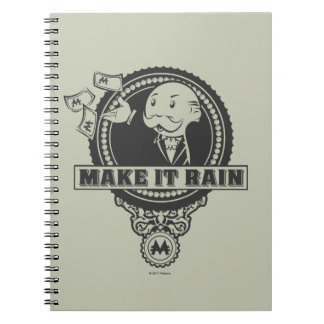 Monopoly | Make it Rain Notebook