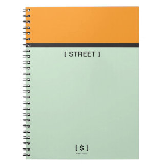 Monopoly | Orange Space Notebook