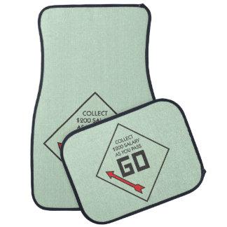 Monopoly | Pass Go Corner Square Car Mat