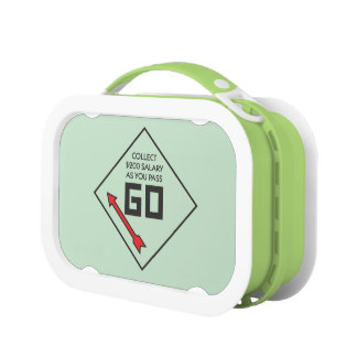 Monopoly | Pass Go Corner Square Lunch Box