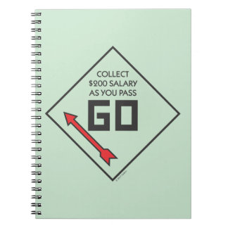 Monopoly | Pass Go Corner Square Notebook