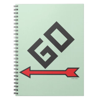 Monopoly | Pass Go Spiral Notebook