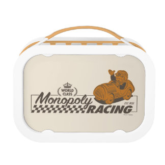 Monopoly Racing Lunch Box