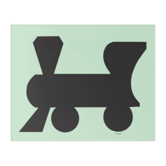 Monopoly | Reading Railroad Acrylic Wall Art
