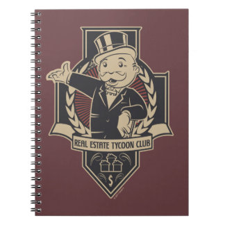 Monopoly | Real Estate Tycoon Club Notebooks