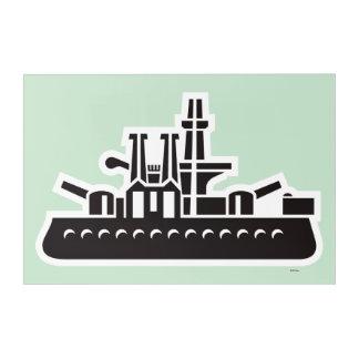 Monopoly   Ship Acrylic Print