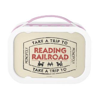 Monopoly | Take a Trip to Reading Railroad Lunch Box