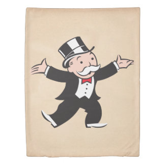 Monopoly | Uncle Pennybags Duvet Cover