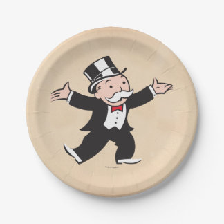Monopoly | Uncle Pennybags Paper Plate