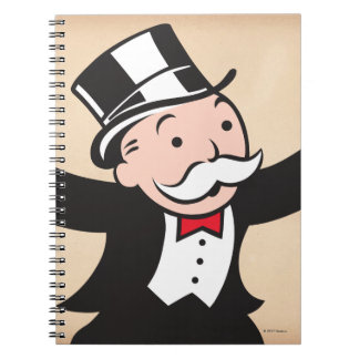 Monopoly | Uncle Pennybags Spiral Notebook