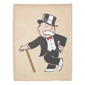 Monopoly | Uncle Pennybags Winking Duvet Cover