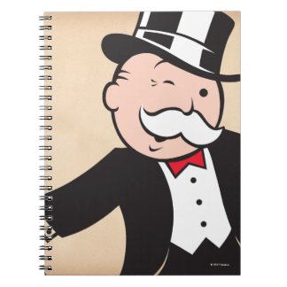 Monopoly | Uncle Pennybags Winking Notebooks