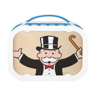 Monopoly | Uncle Pennybags With Cane Lunch Box
