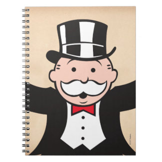 Monopoly | Uncle Pennybags With Cane Notebook
