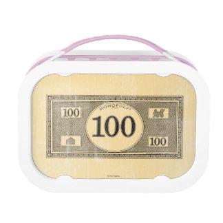 Monopoly | Vintage 100 Dollar Bill Lunch Box