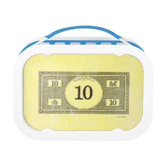 Monopoly | Vintage 10 Dollar Bill Lunch Box
