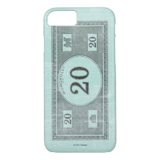 Monopoly | Vintage 20 Dollar Bill iPhone 8/7 Case