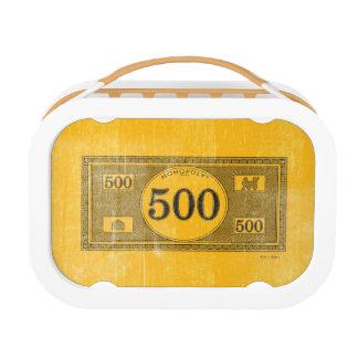 Monopoly | Vintage 500 Dollar Bill Lunch Box
